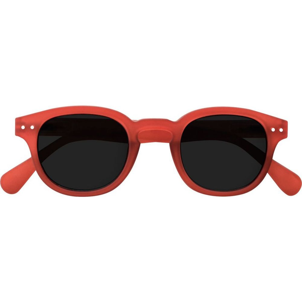 イジピジ Izipizi レディース メガネ・サングラス 【#C Sun The Retro Sunglasses】Crystal Red