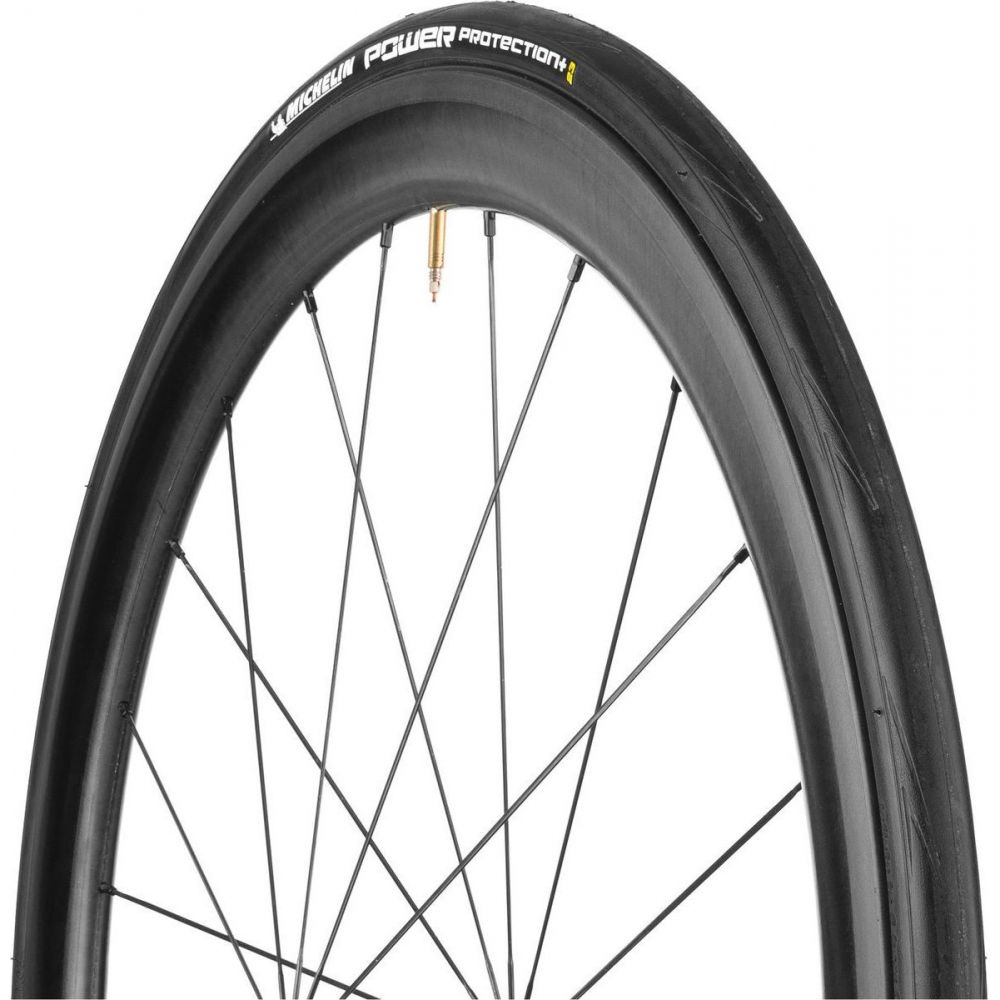 ミシュラン Michelin レディース 自転車 【Power Protection + Tire - Clincher】Black