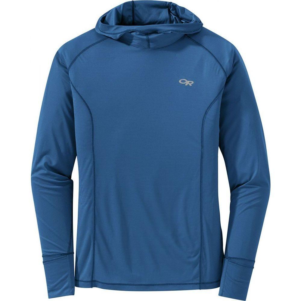 アウトドアリサーチ Outdoor Research メンズ フィットネス・トレーニング トップス【Echo Hooded Long - Sleeve Shirt】Cobalt