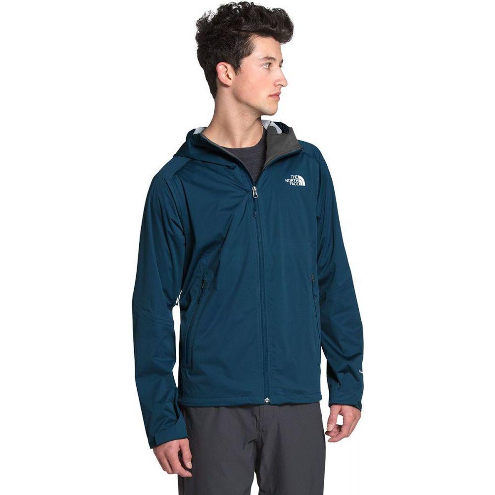 ザ ノースフェイス The North Face メンズ レインコート アウター【Allproof Stretch Jacket】Blue Wing Teal