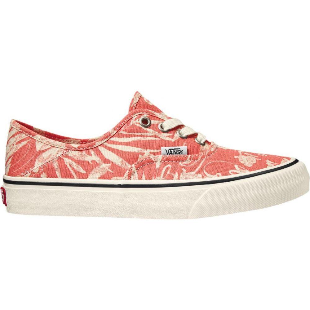 ヴァンズ Vans レディース スニーカー シューズ・靴【Authentic SF Shoe】 Deep Sea Coral/Marshmallow