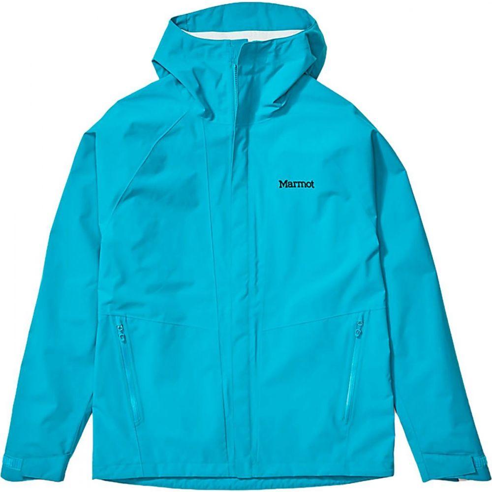 マーモット Marmot メンズ レインコート アウター【EVODry Bross Jacket】Enamel Blue