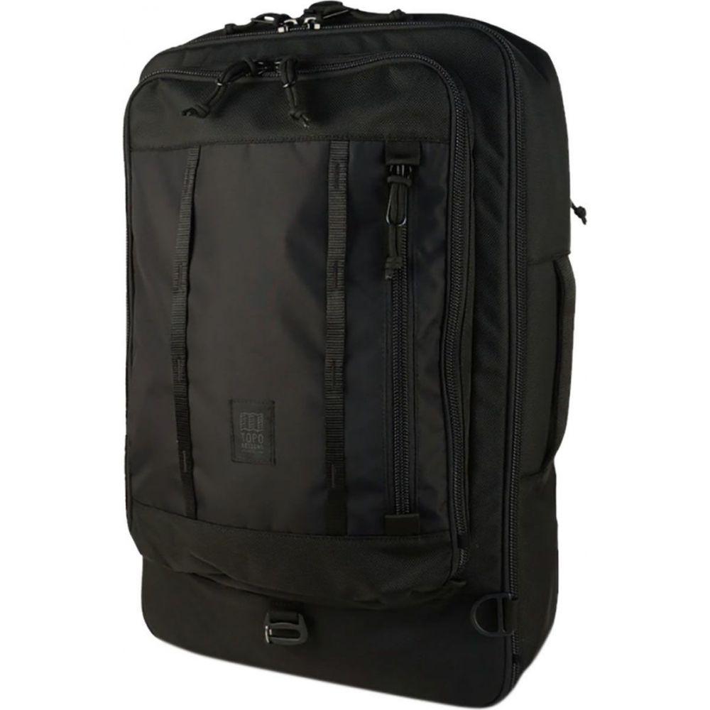 トポ デザイン Topo Designs レディース バックパック・リュック バッグ【Travel 40L Bag】Ballistic Black