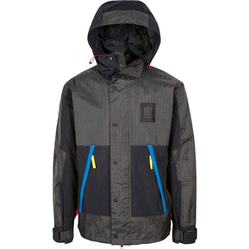 トポ デザイン Topo Designs メンズ ジャケット アウター【Subalpine Jacket】Black/White