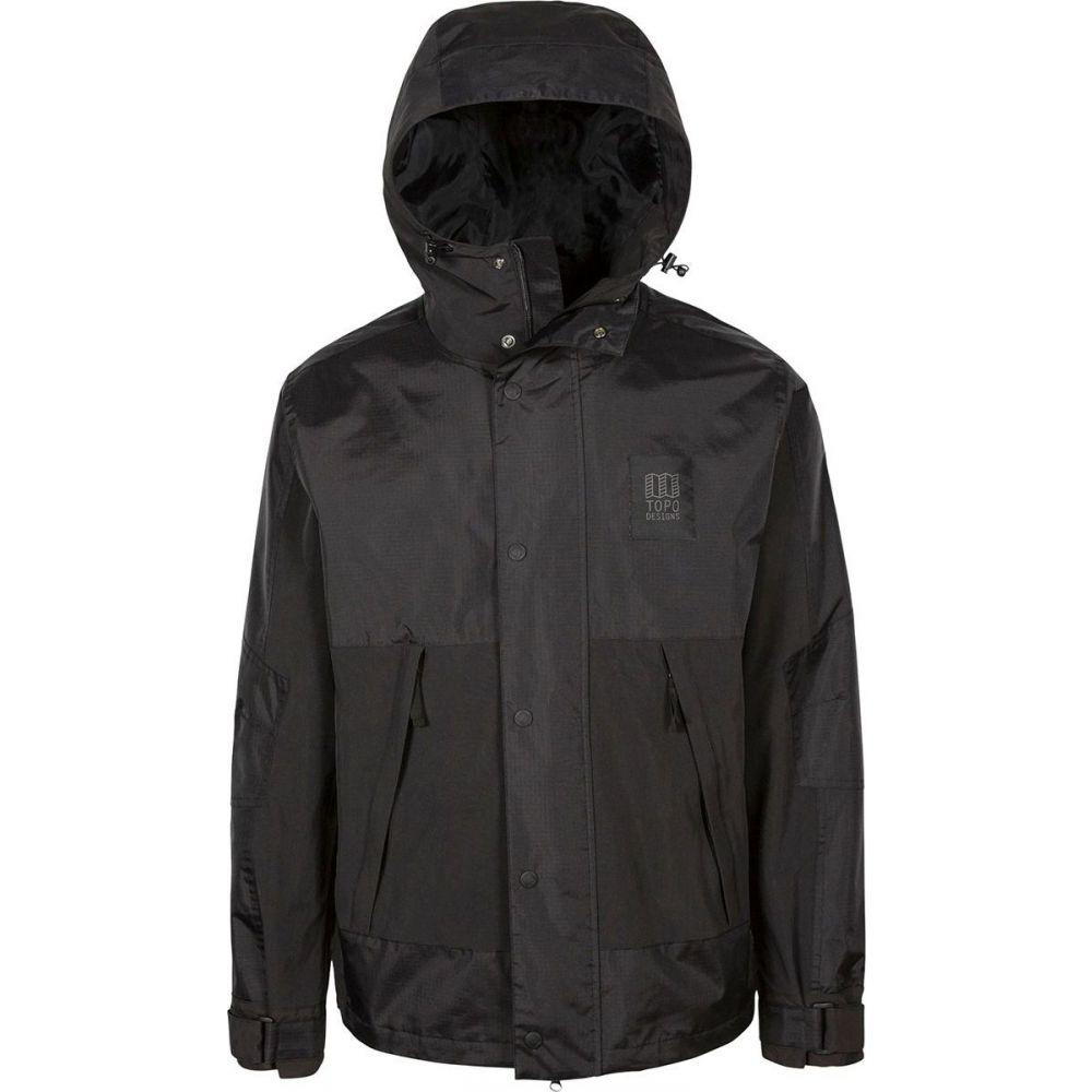 トポ デザイン Topo Designs メンズ ジャケット アウター【Subalpine Jacket】Black/Black
