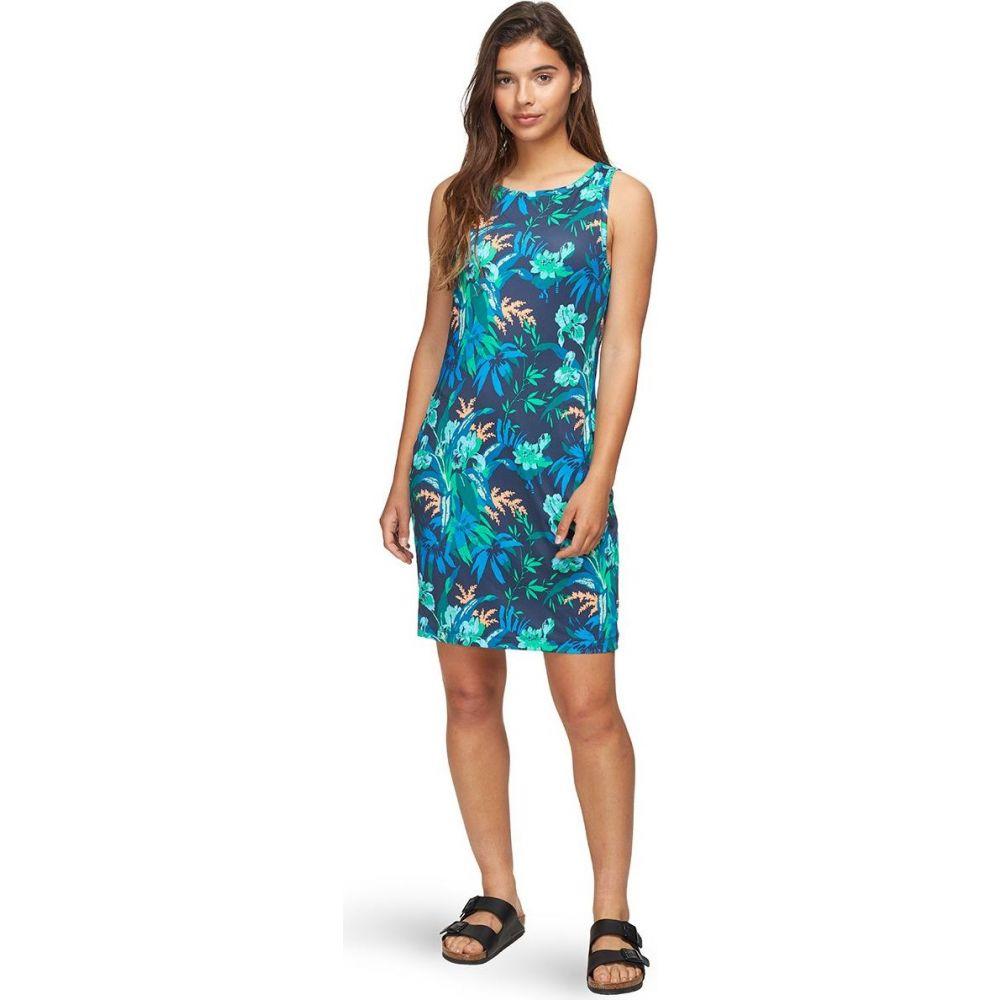 コロンビア Columbia レディース ワンピース ワンピース・ドレス【chill river printed dress】Nocturnal Magnolia Print