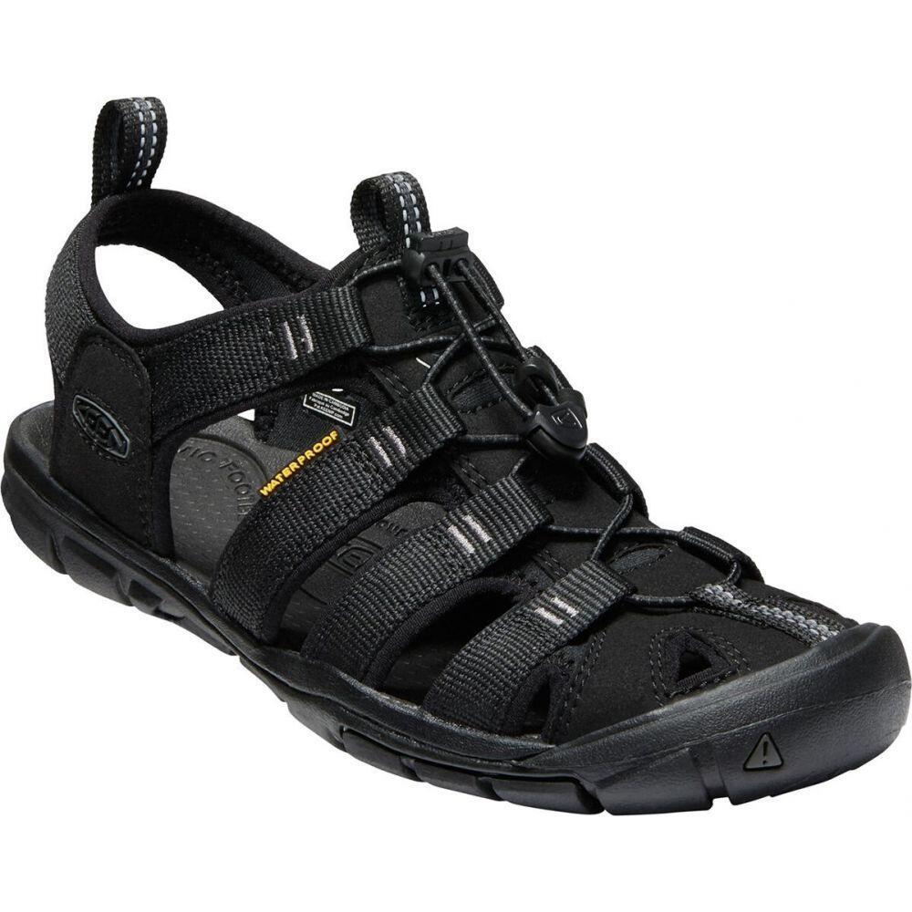 キーン KEEN レディース サンダル・ミュール シューズ・靴【clearwater cnx sandal】Black/Black