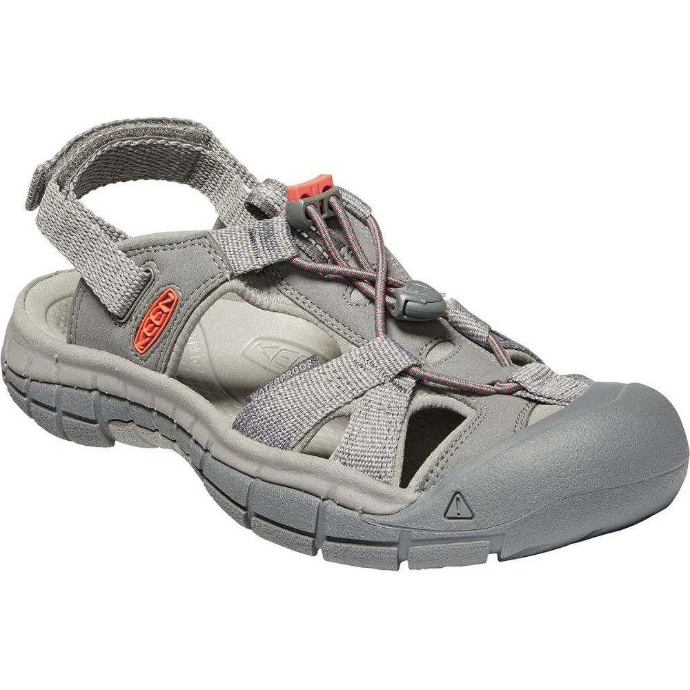 キーン KEEN レディース サンダル・ミュール シューズ・靴【ravine h2 sandal】Steel Grey/Coral