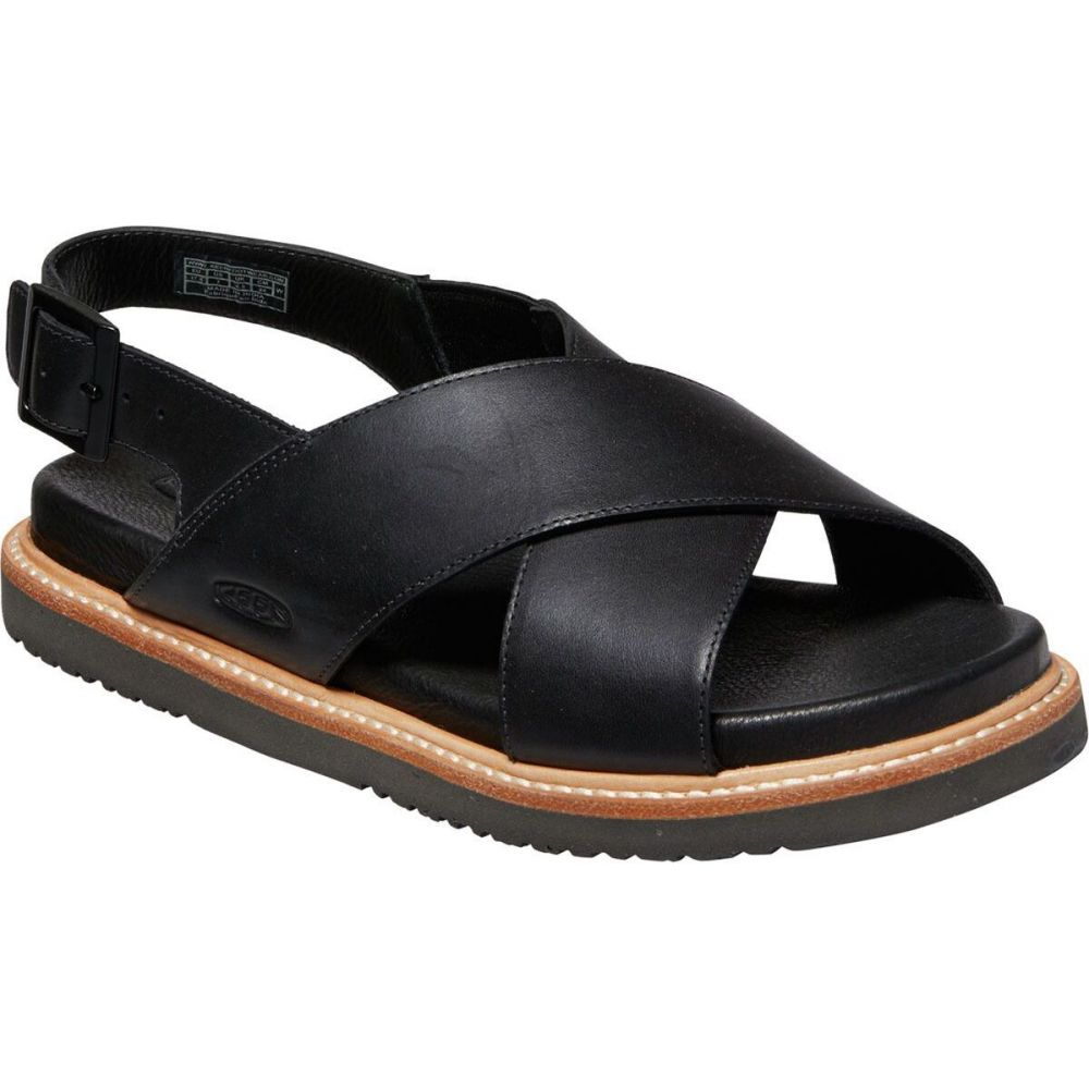 キーン KEEN レディース サンダル・ミュール シューズ・靴【lana cross strap sandal】Black/Black