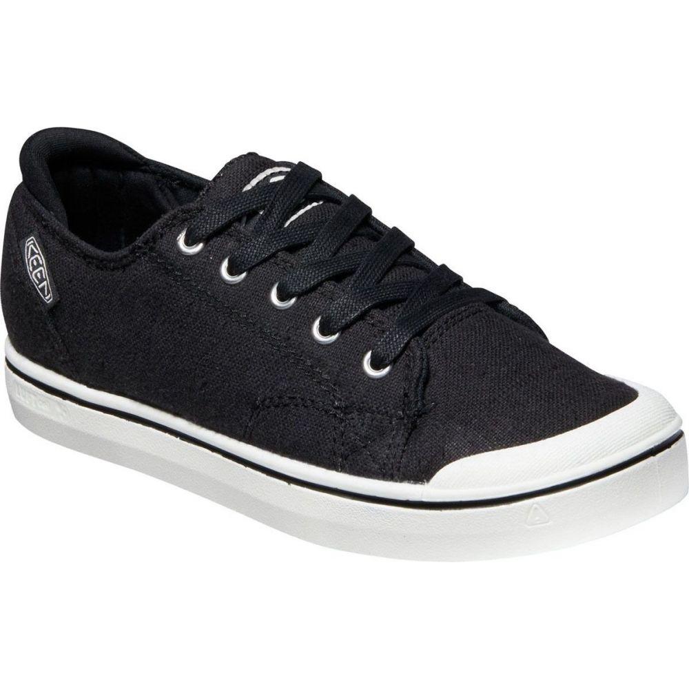 キーン KEEN レディース スニーカー シューズ・靴【elsa iv sneaker】Black/Star White
