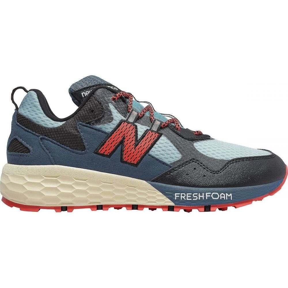 ニューバランス New Balance レディース ランニング・ウォーキング シューズ・靴【fresh foam crag v2 trail running shoe】Wax Blue/Black/Toro Red