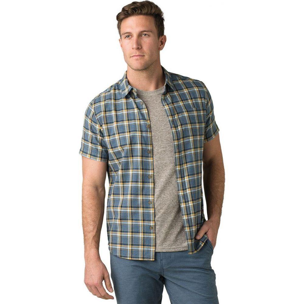 プラーナ Prana メンズ 半袖シャツ トップス【bryner shirt - slim】Nickel