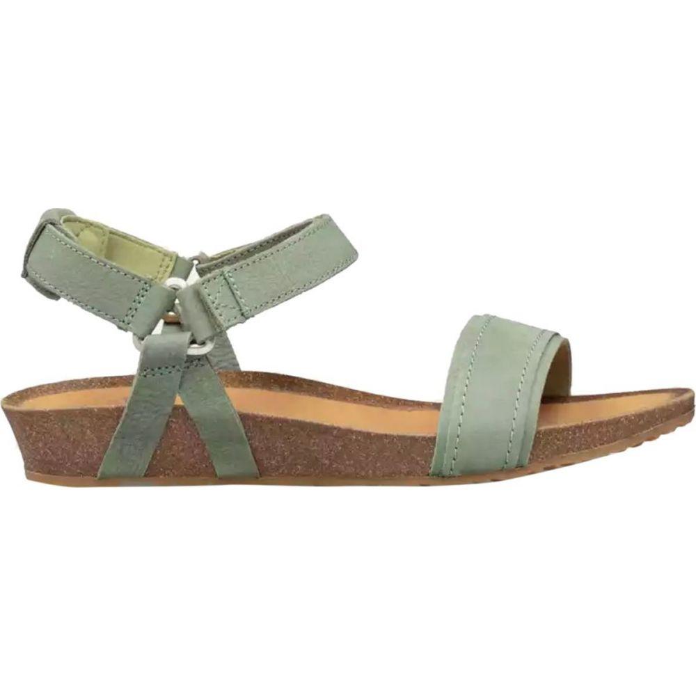 テバ Teva レディース サンダル・ミュール シューズ・靴【mahonia stitch sandal】Calliste Green