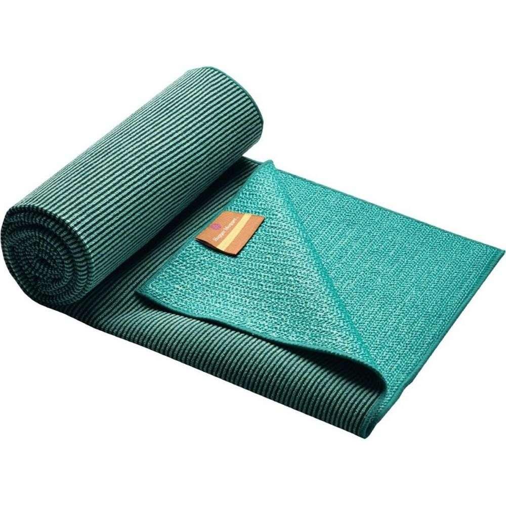 ハガーマガー Hugger Mugger レディース ヨガ・ピラティス ヨガタオル【yoga towel】Teal