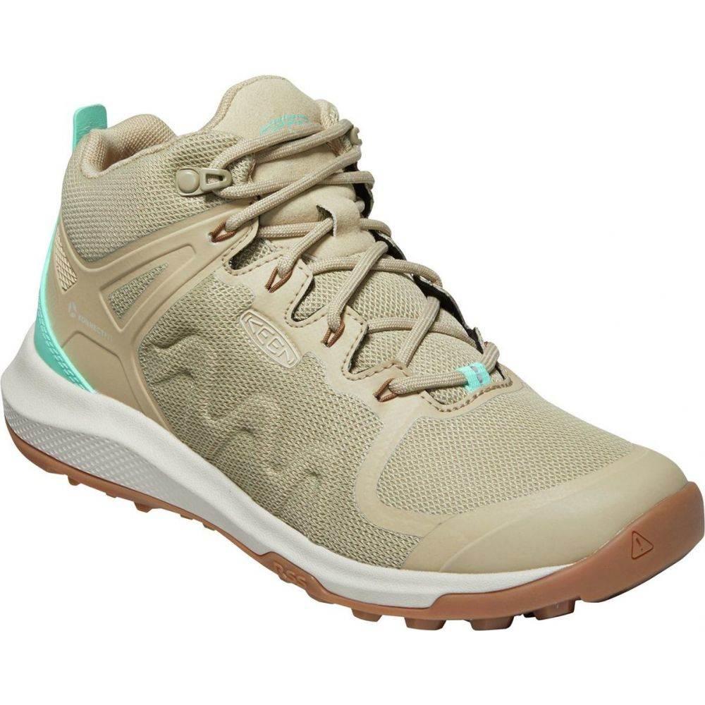 キーン KEEN レディース ハイキング・登山 シューズ・靴【explore vent mid hiking shoe】Safari/Cockatoo