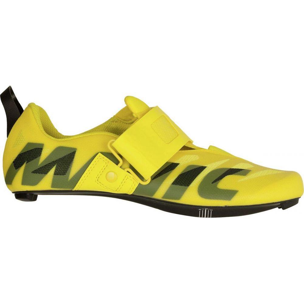 マヴィック Mavic メンズ トライアスロン シューズ・靴【cosmic sl ultimate tri shoe】Yellow Mavic/Black