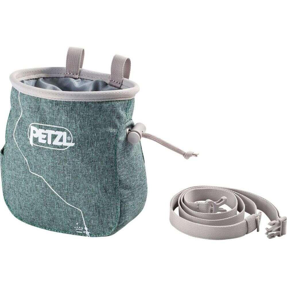 ペツル Petzl レディース クライミング チョークバッグ【saka chalk bag】Green