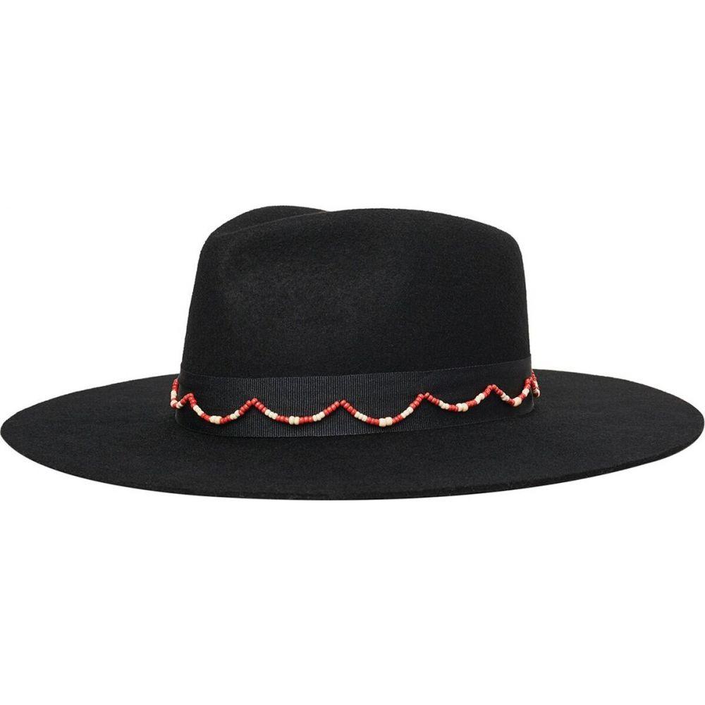 ブリクストン Brixton レディース ハット フェドラ 帽子【tillman fedora】Black