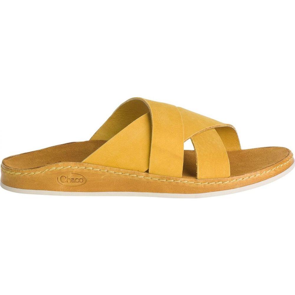 チャコ Chaco レディース サンダル・ミュール スライドサンダル シューズ・靴【wayfarer slide sandal】Ochre