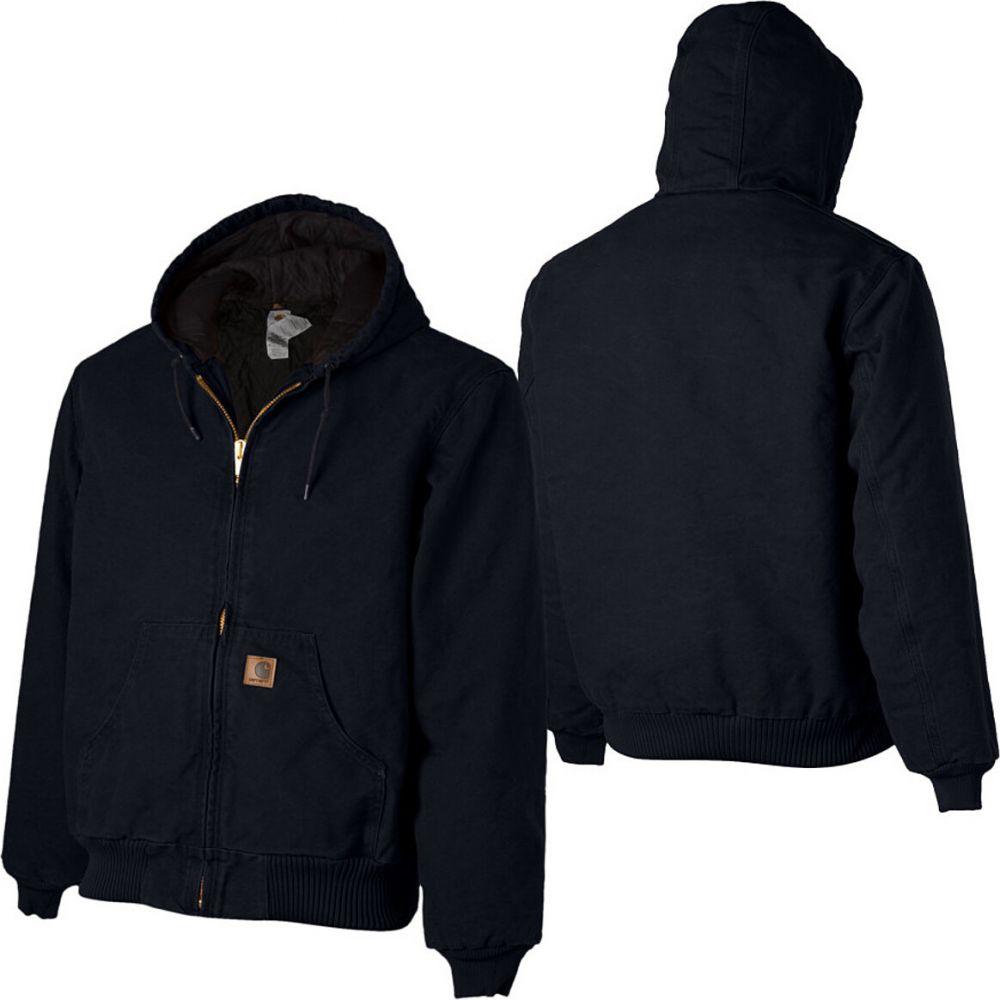 カーハート Carhartt メンズ ジャケット アウター【sandstone quilted flannel - lined active jacket】Midnight