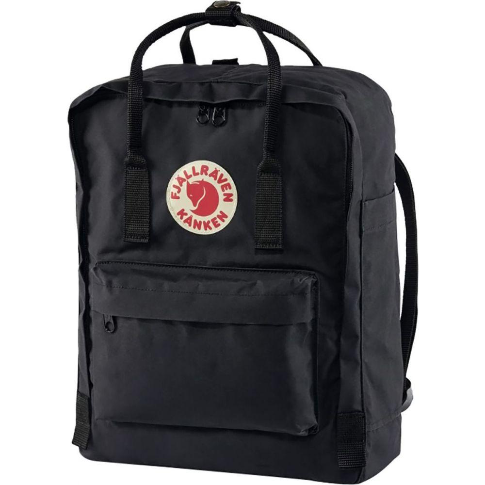 フェールラーベン Fjallraven レディース バックパック・リュック カンケン バッグ【kanken 16l backpack】Black