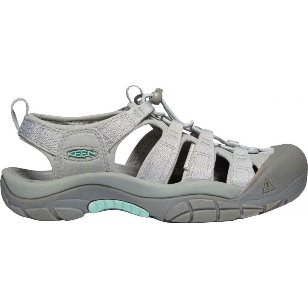 キーン KEEN レディース サンダル・ミュール シューズ・靴【newport h2 sandal】Grey/Ocean Wave