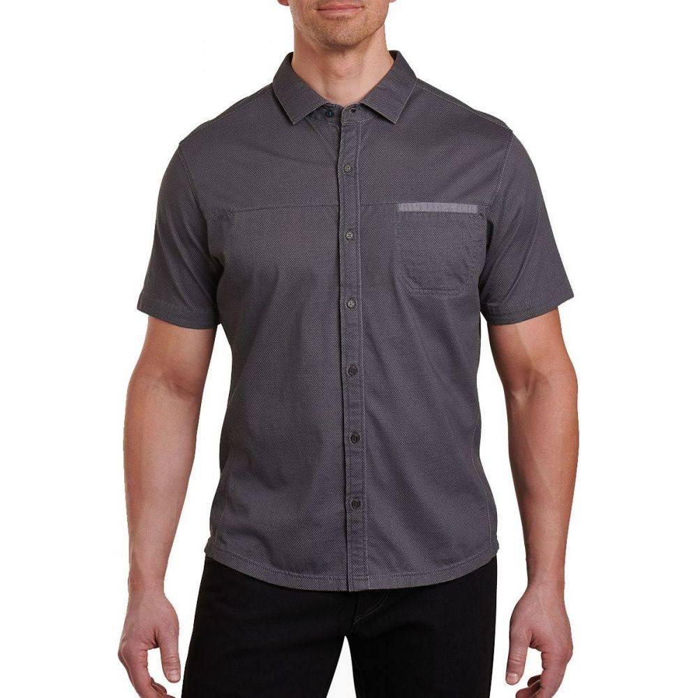 キュール KUHL メンズ 半袖シャツ トップス【innovatr twill shirt】Carbon