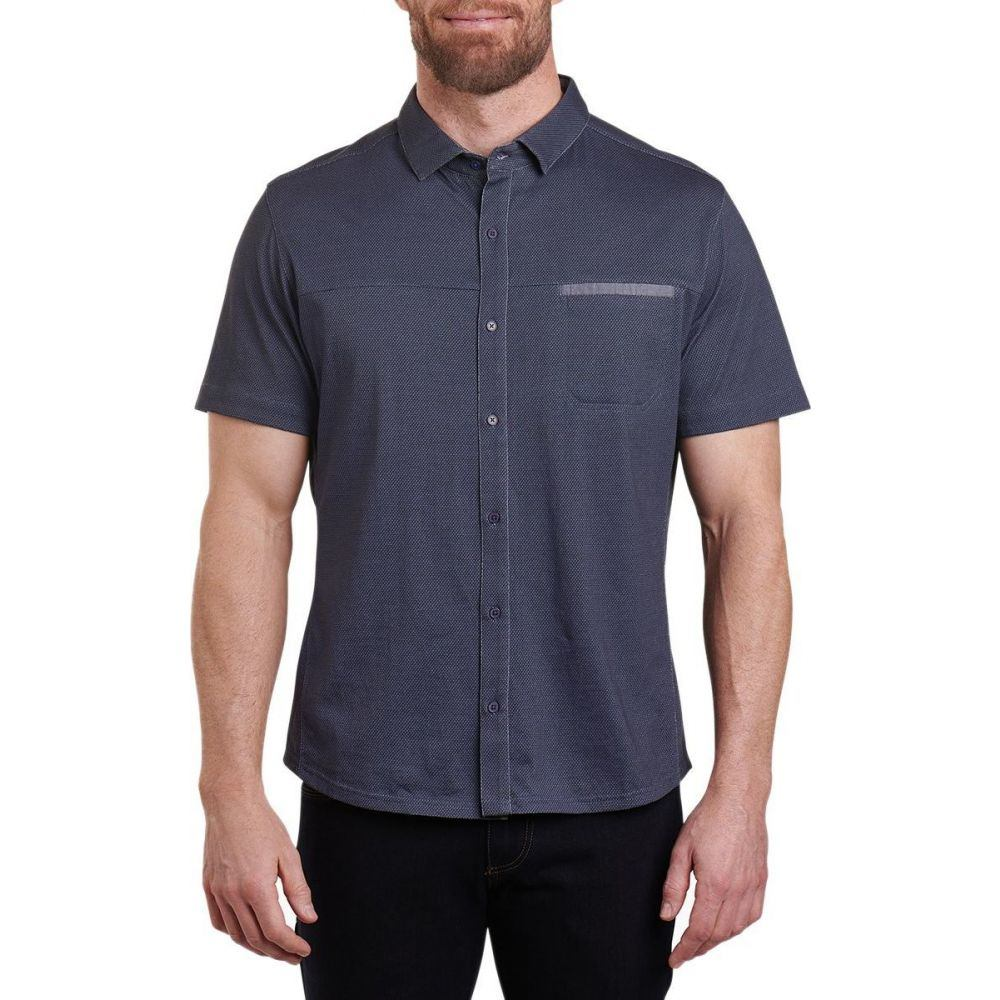 キュール KUHL メンズ 半袖シャツ トップス【innovatr twill shirt】Marin Blue
