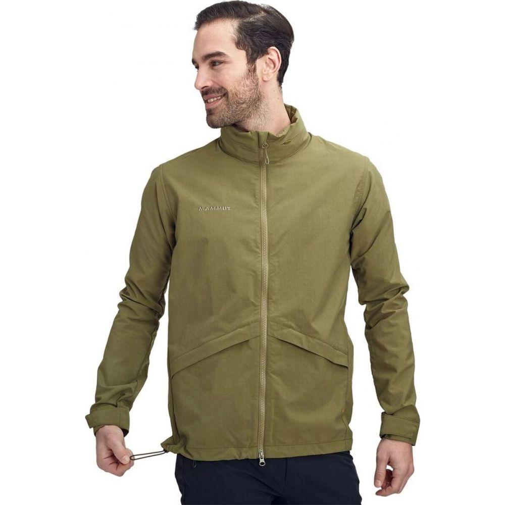 マムート Mammut メンズ レインコート マウンテンジャケット アウター【mountain tuff jacket】Olive