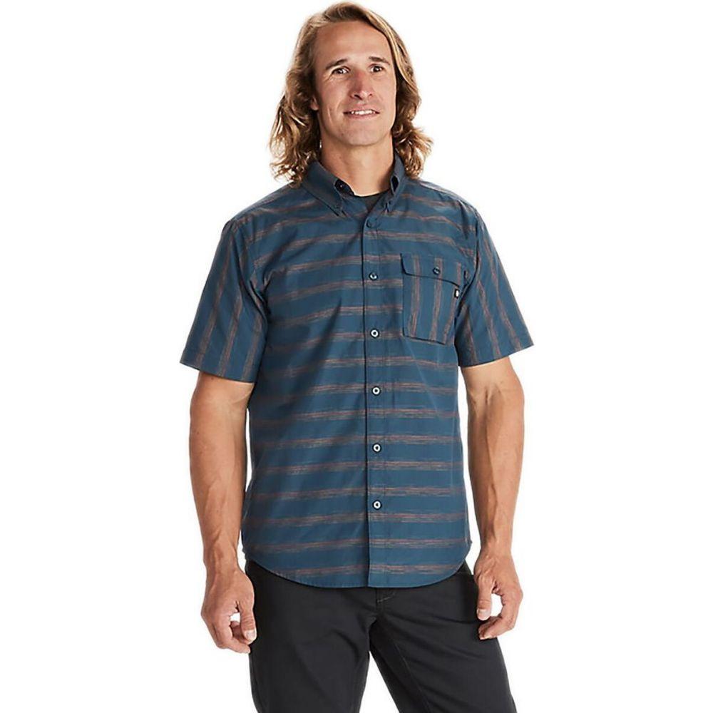 マーモット Marmot メンズ 半袖シャツ トップス【beacon hill shirt】Denim