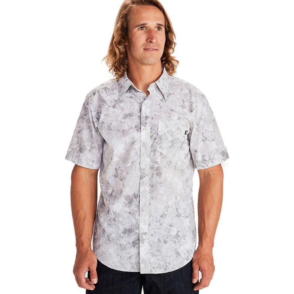 マーモット Marmot メンズ 半袖シャツ トップス【bennett peak shirt】Light Grey Leaf Camo