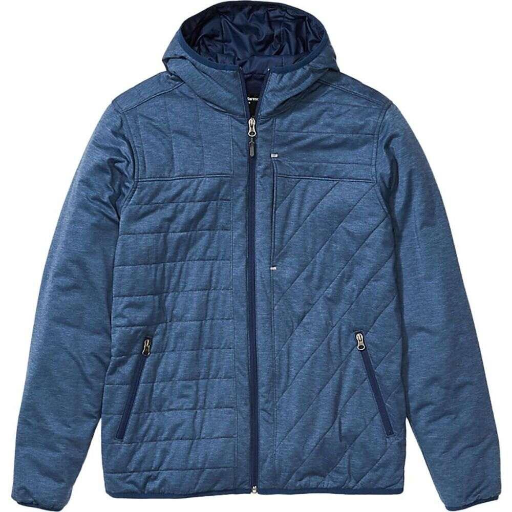 マーモット Marmot メンズ ジャケット フード アウター【mica view insulated hooded jacket】Arctic Navy Heather