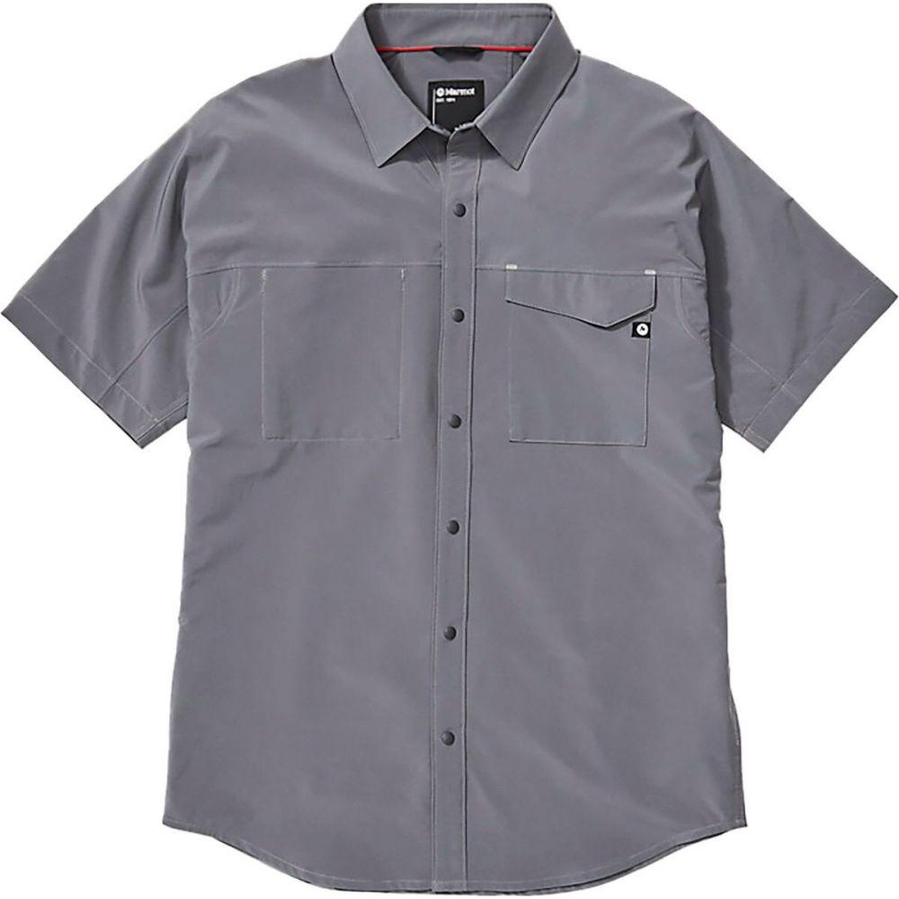 マーモット Marmot メンズ 半袖シャツ トップス【northgate peak shirt】Steel Onyx