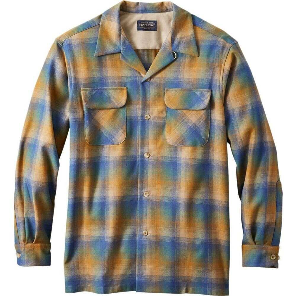 ペンドルトン Pendleton メンズ シャツ トップス【board shirt】Copper/Blue Ombre