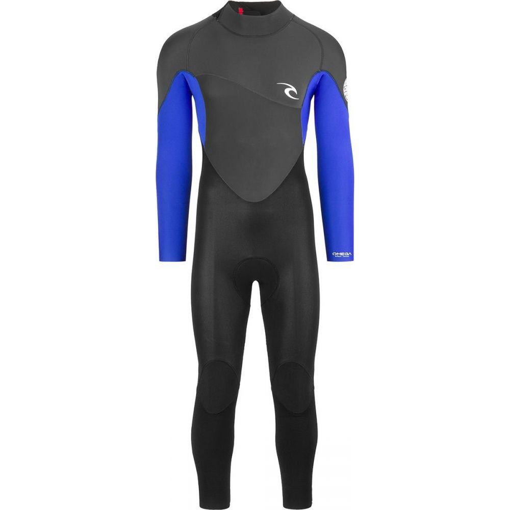 リップカール Rip Curl メンズ ウェットスーツ フルスーツ 水着・ビーチウェア【omega 3/2 back - zip full wetsuit】Blue