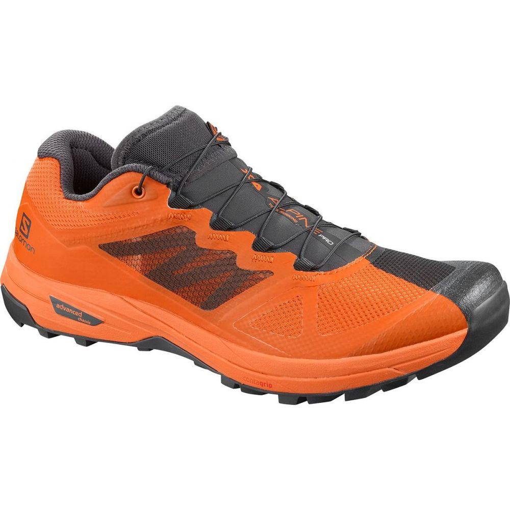サロモン Salomon メンズ ランニング・ウォーキング シューズ・靴【x alpine pro trail running shoe】Phantom/Russet Orange/Russet Orange