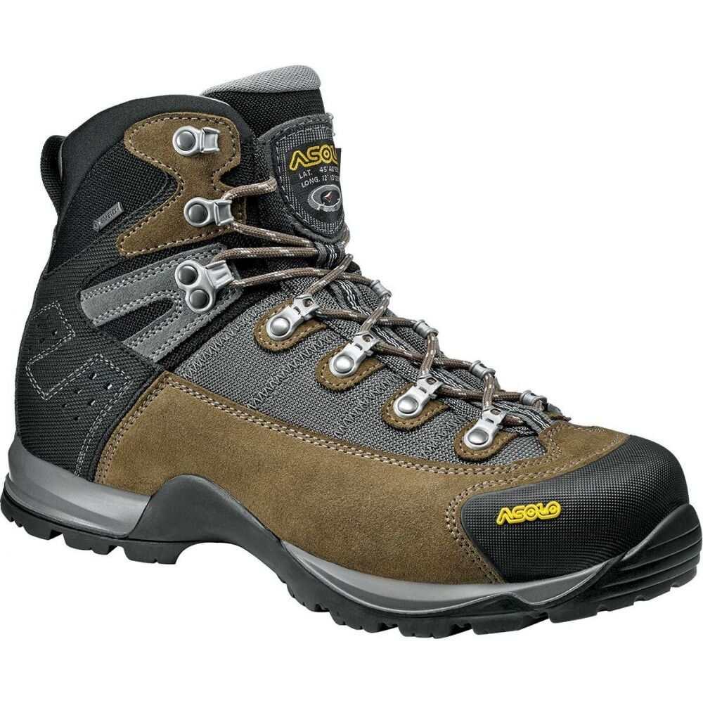 アゾロ Asolo メンズ ハイキング・登山 ブーツ シューズ・靴【fugitive gore - tex boot】Truffle/Stone