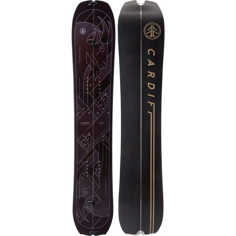 カーディフスノークラフト Cardiff Snowcraft レディース スキー・スノーボード ボード・板【goat pro carbon split snowboard】Black