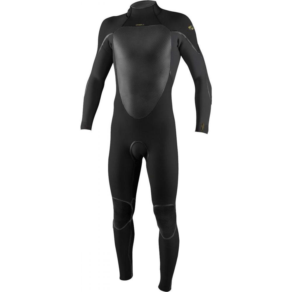 オニール O'Neill メンズ ウェットスーツ フルスーツ 水着・ビーチウェア【psycho tech 3/2+mm back - zip full wetsuit】Black/Black