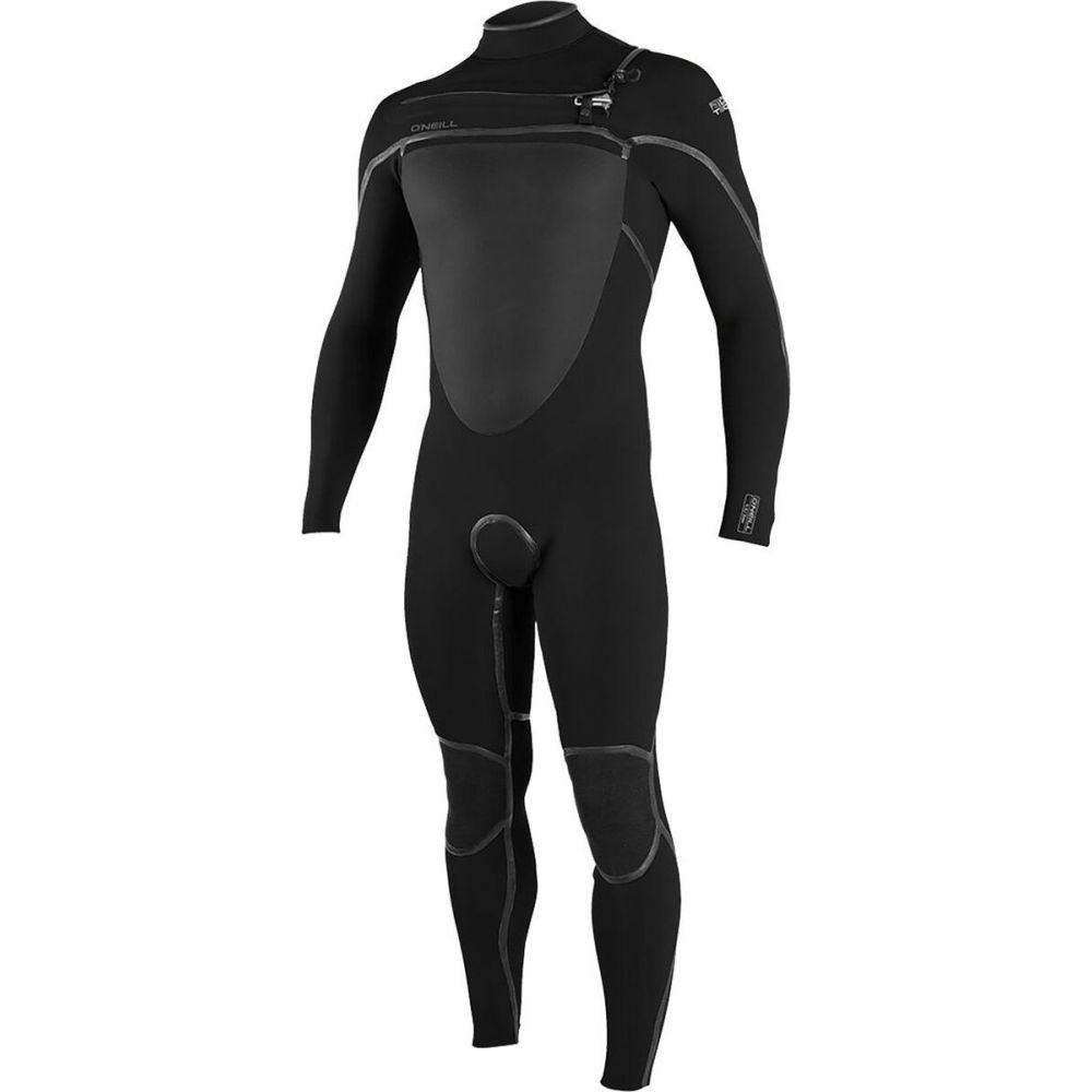 オニール O'Neill メンズ ウェットスーツ フルスーツ 水着・ビーチウェア【psycho tech 4/3+mm chest - zip full wetsuit】Black/Black