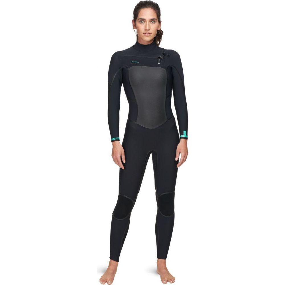 オニール O'Neill レディース ウェットスーツ フルスーツ 水着・ビーチウェア【psycho tech 4/3+mm chest - zip full wetsuit】Black/Black