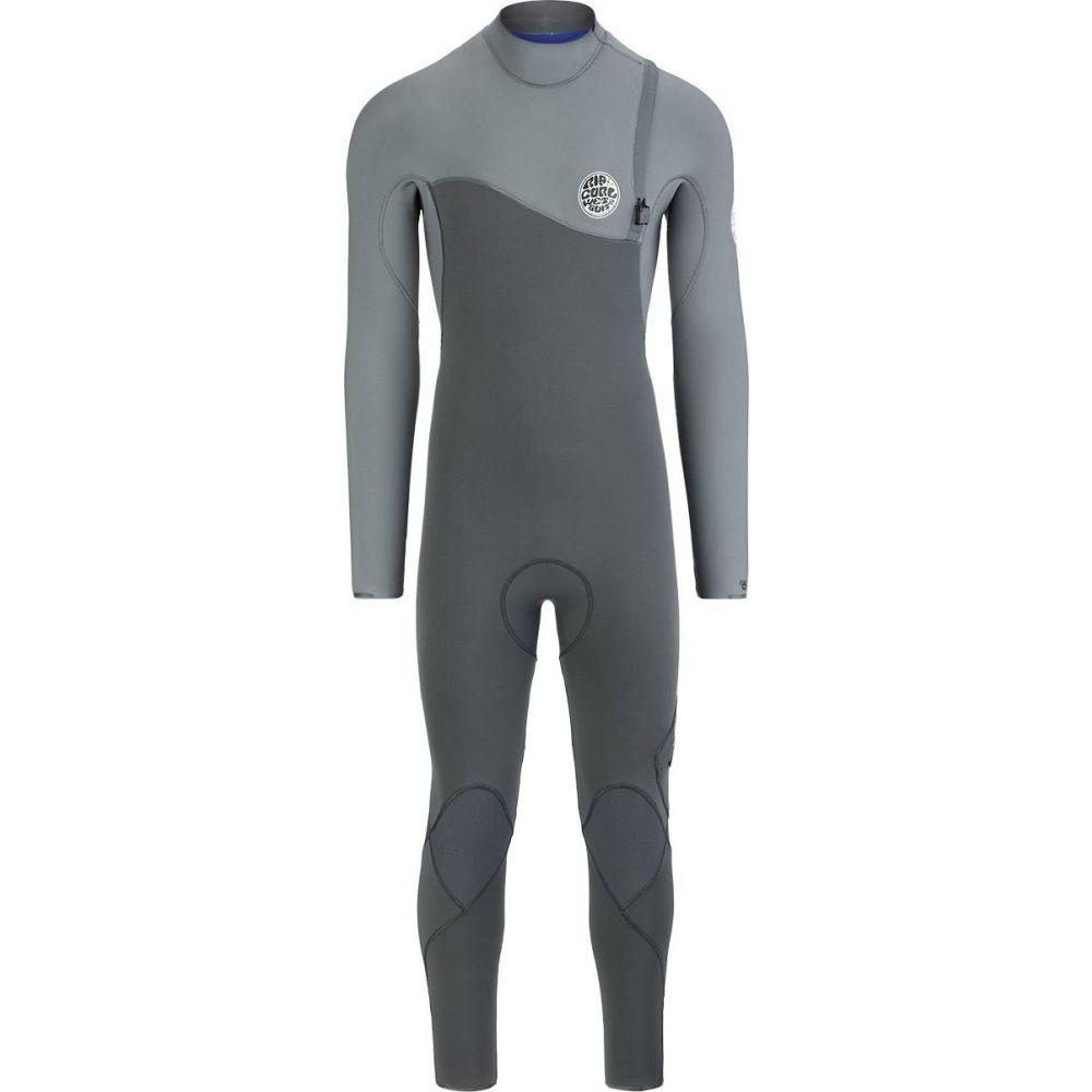 リップカール Rip Curl メンズ ウェットスーツ フルスーツ 水着・ビーチウェア【e - bomb pro 3/2 zip - free full wetsuit】Charcoal