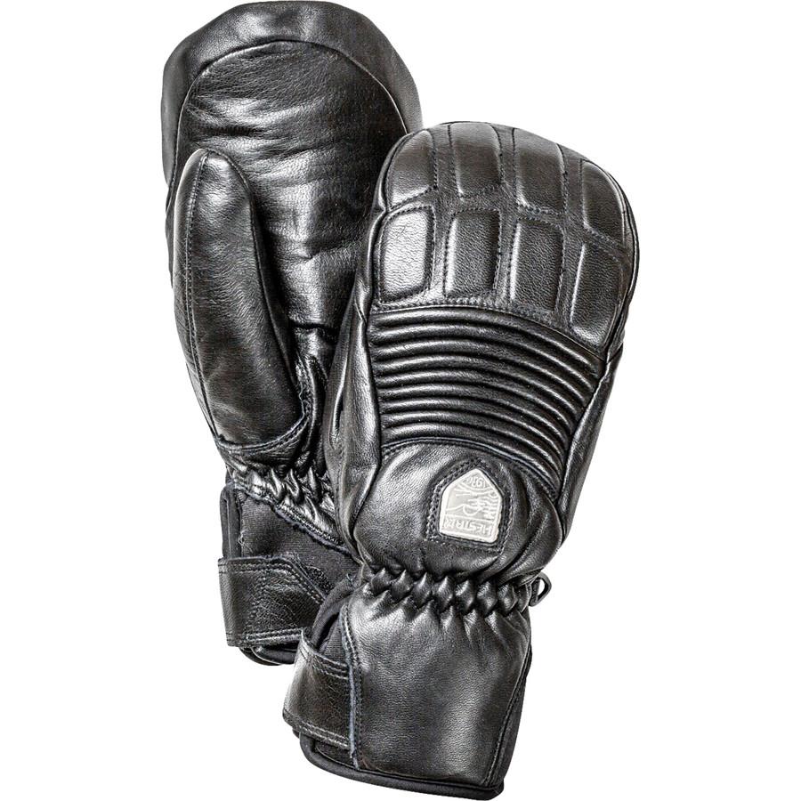ヘスタ Hestra レディース アクセサリー 手袋【Leather Fall Line Mitten】Black