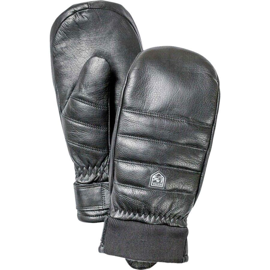 ヘスタ Hestra レディース アクセサリー 手袋【Alpine Leather Primaloft Mitten】Black