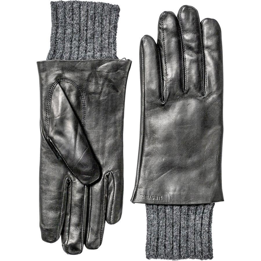 ヘスタ Hestra レディース アクセサリー 手袋【Megan Glove】Black