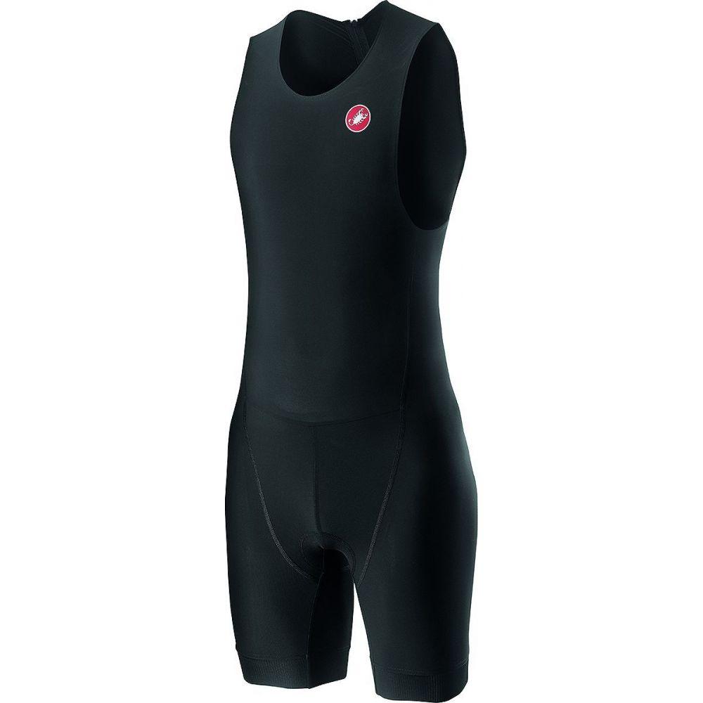 カステリ Castelli メンズ トライアスロン トライスーツ トップス【Core Spr - Oly Suit】Black