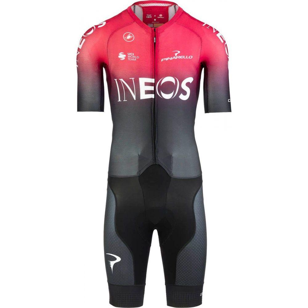 カステリ Castelli メンズ トライアスロン トップス【INEOS Sanremo 4.1 Speedsuit】Dark Red