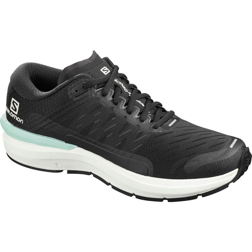サロモン Salomon メンズ ランニング・ウォーキング シューズ・靴【Sonic 3 Confidence Running Shoe】Black/White/Quiet Shade