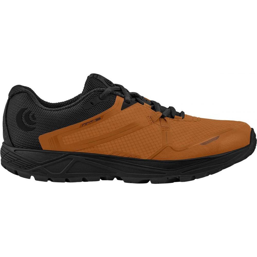 トポ アスレチック Topo Athletic メンズ ランニング・ウォーキング シューズ・靴【MT - 3 Trail Running Shoe】Orange/Black