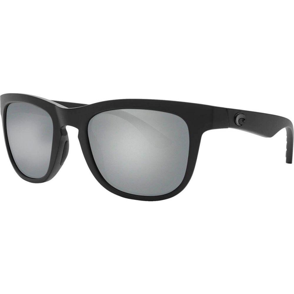 コスタ Costa メンズ メガネ・サングラス 【Copra 580G Polarized Sunglasses】Blackout Frame/Gray Silver Mirror